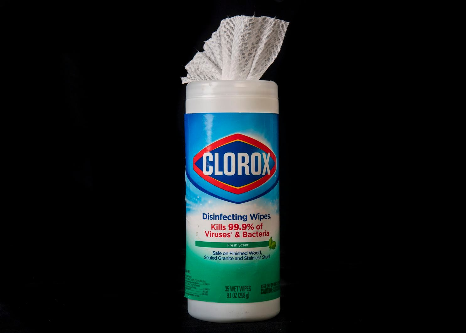 Clorox Disinfecting Wipes image shared by medicaid lawyers at Louisiana